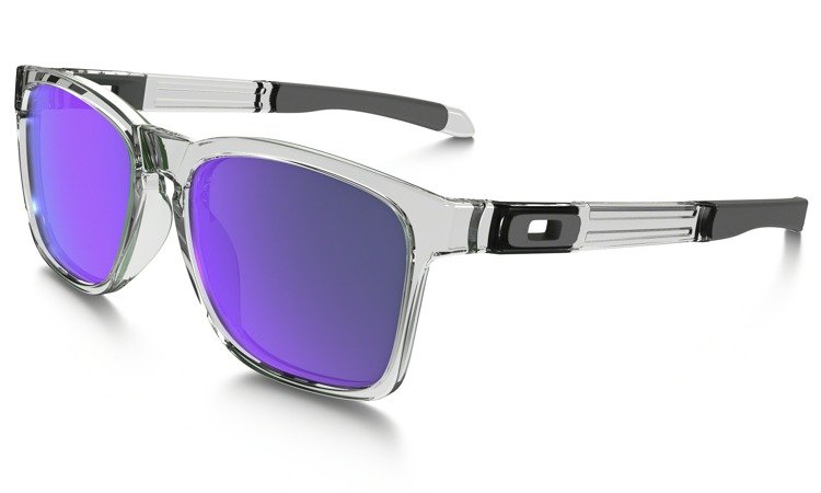 939c624f44 Oakley Sunglasses CATALYST Polished Clear Violet Iridium OO9272-05  OO9272-05