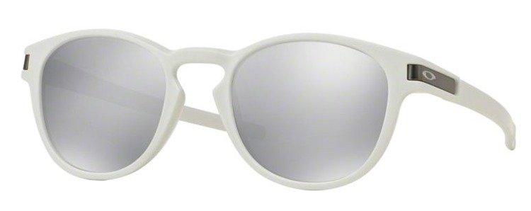 9c7f859e668 OAKLEY Sunglasses LATCH Matte White   Chrome Iridium OO9265-16 ...
