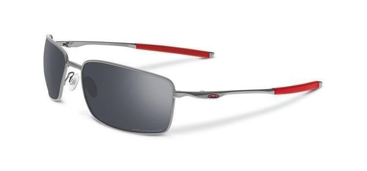 8ea031f73b Oakley Sunglasses SQUARE WIRE Light Black Iridium Polarized OO4075-07 OO4075-07