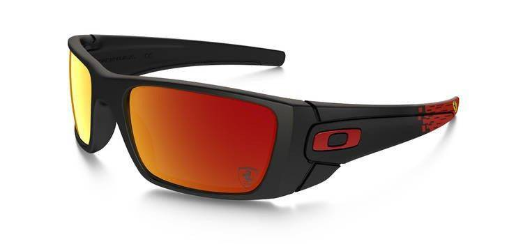 00d07c9ae0 Oakley Sunglasses SPECIAL EDITION FERRARI FUEL CELL Matte Black Ruby  Iridium OO9096-A8 OO9096-A8