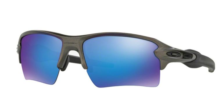511d30b2ab Oakley Sunglasses FLAK 2.0 XL Grey Sapphire Iridium OO9188-61 OO9188 ...