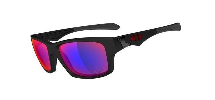 e3ce5f0aa6c7 Oakley Sunglasses JUPITER SQUARED SéBASTIEN LOEB Matte Black/Positive Red  Iridium OO9135-12 Oakley Sunglasses JUPITER SQUARED SéBASTIEN LOEB Matte ...