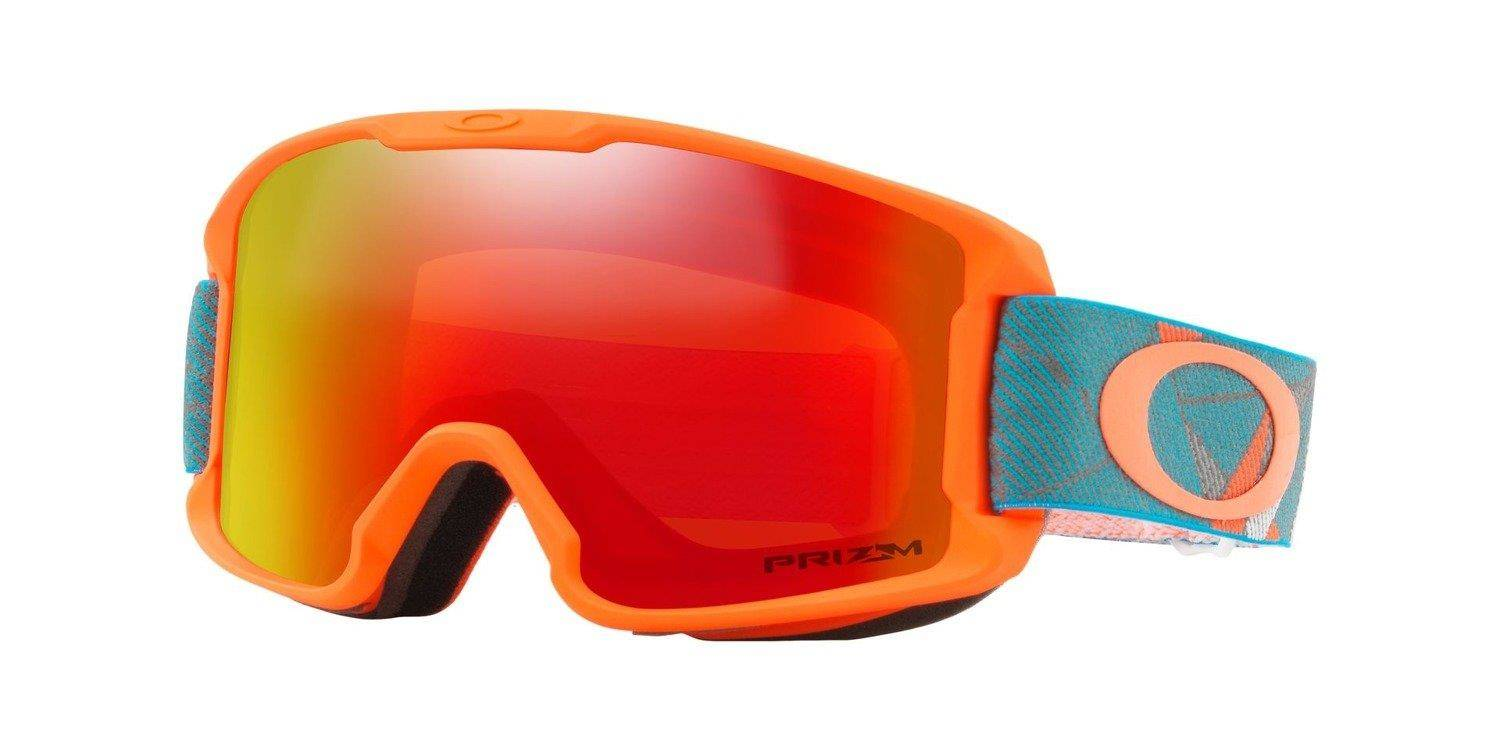 0f600b040b7 ... Oakley Goggles Line Miner Youth Prizmatic Org Sea   Prizm Snow Torch  Iridium OO7095-14 ...