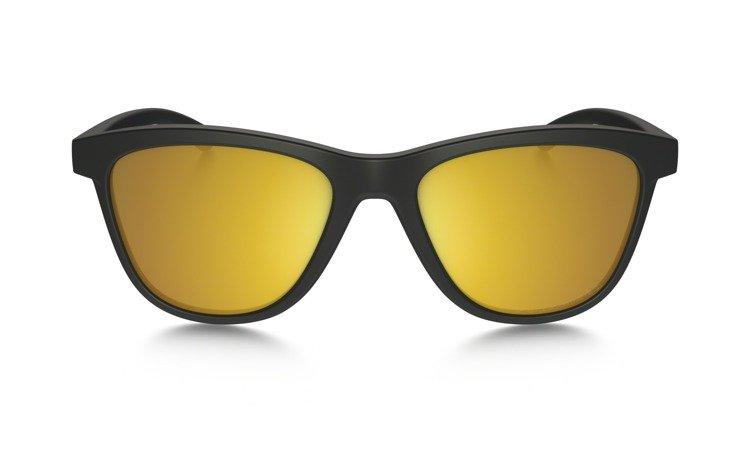d21b82c132 ... Oakley Sunglasses MOONLIGHTER Matte Black 24K Iridium Polarized OO9320- 10 ...