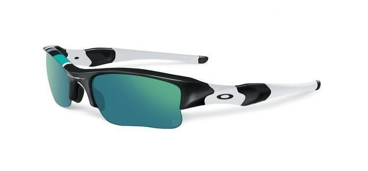 31d1e9d942 Oakley Sunglasses FLAK JACKET XLJ Polished Black Jade Iridium 26-265 26-265