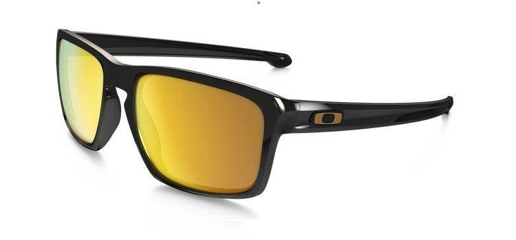 6231578867f Oakley Sunglasses SLIVER Polished Black 24K Iridium OO9262-05 OO9262 ...