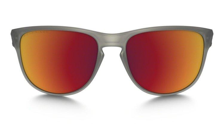 ca38fe4319 ... Oakley Sunglasses SLIVER R Matte Grey Torch Iridium Polarized OO9342-03  ...