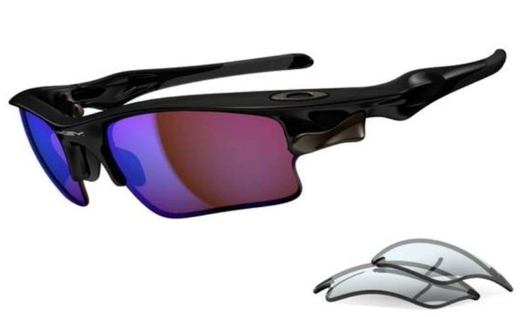 d98fa669fb Oakley Sunglasses FAST JACKET XL Polished Black G30 Iridium   Grey  OO9156-19 OO9156-19