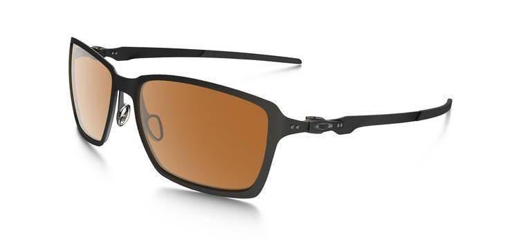 4c1ca9c77f Oakley Sunglasses TINCAN Matte Black Dark Bronze OO4082-02 OO4082-02 ...