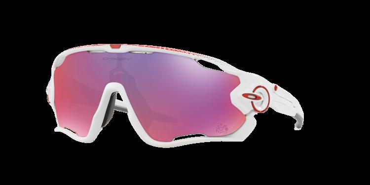 Oakley Sunglasses JAWBREAKER™ PRIZM™ ROAD TOUR DE FRANCE Polished  White Prizm Road OO9290-18 OO9290-18  7363811491