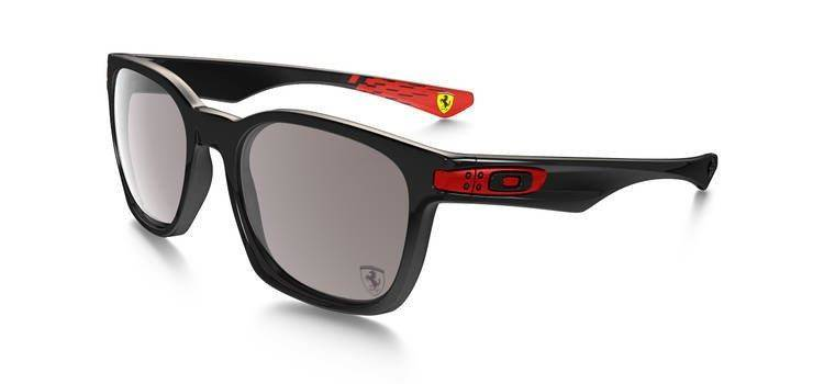 c1cdb92762 Oakley SPECIAL EDITION FERRARI GARAGE ROCK Polished Black Warm Grey OO9175-34  OO9175-34