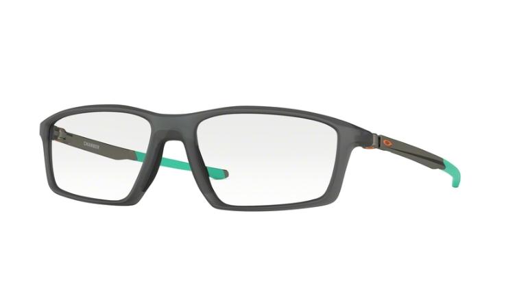 0f75409c98 ... Oakley Optical Frame CHAMBER Satin Grey Smoke Clear OX8138-04 ...