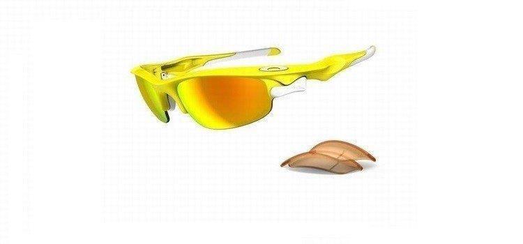 77ec572a15a8a Oakley Sunglasses FAST JACKET Lemon Peel Fire Iridium Polarized   Persimmon  OO9097-08 Oakley Sunglasses FAST JACKET Lemon Peel Fire Iridium Polarized  ...