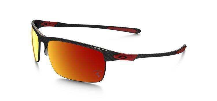 844753f295df3 Oakley Sunglasses SPECIAL EDITION FERRARI POLARIZED CARBON BLADE Polished  Carbon Ruby Iridium Polarized OO9174-06 OO9174-06