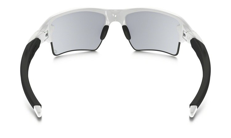 04fd90c006 ... Oakley Sunglasses FLAK 2.0 XL Polished White Photochromic Clear-Black  Iridium OO9188-51 ...