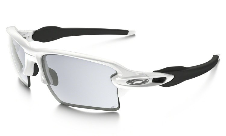 b71b91311b ... Oakley Sunglasses FLAK 2.0 XL Polished White Photochromic Clear-Black  Iridium OO9188-51 ...