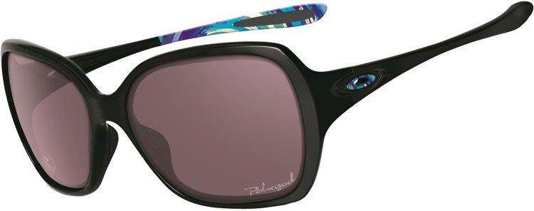 0ba004f7084 OAKLEY Sunglasses OVERTIME Polished Black   OO Gray Polarized OO9167-17  OO9167-17