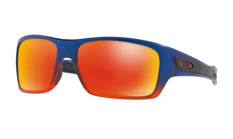 ba43f7f803c Oakley TURBINE Orange Pop Fade Prizm Ruby OO9263-44 OO9263-44 ...