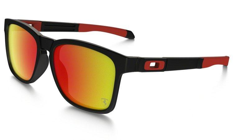 476113c8c37 Oakley Sunglasses SCUDERIA FERRARI® COLLECTION CATALYST Matte Black Ruby Iridium  OO9272-07 OO9272-07