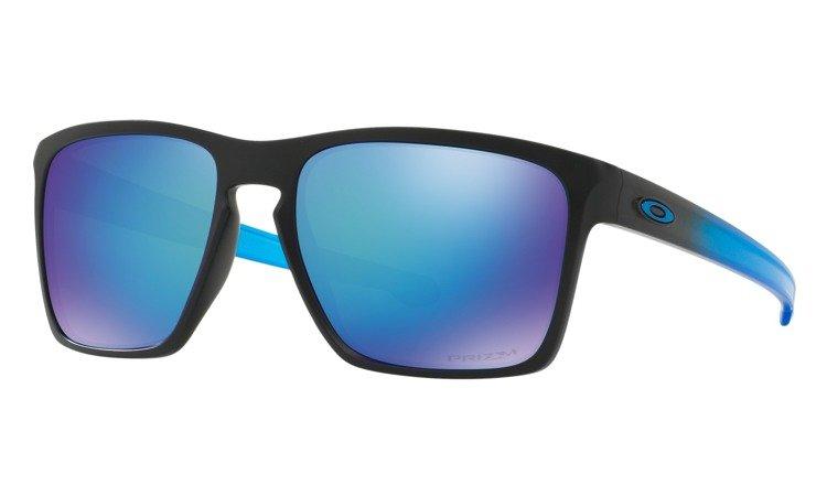 a72743dadd7 Oakley Sunglasses SLIVER XL Matte Black   Prizm Sapphire Polarized  OO9341-13 OO9341-13