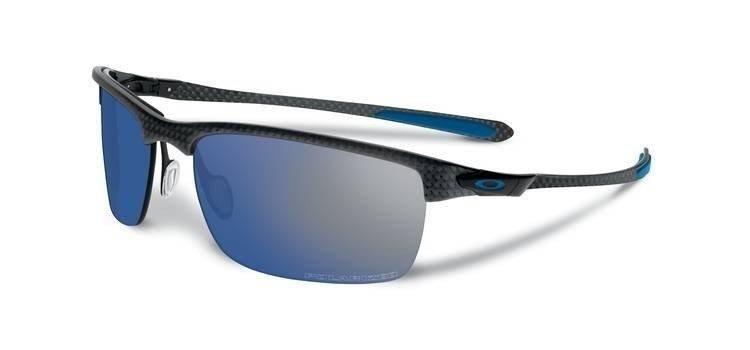 886835508f1da Oakley Sunglasses POLARIZED CARBON BLADE Matte Carbon Ice Iridium Polarized  OO9174-05 OO9174-05