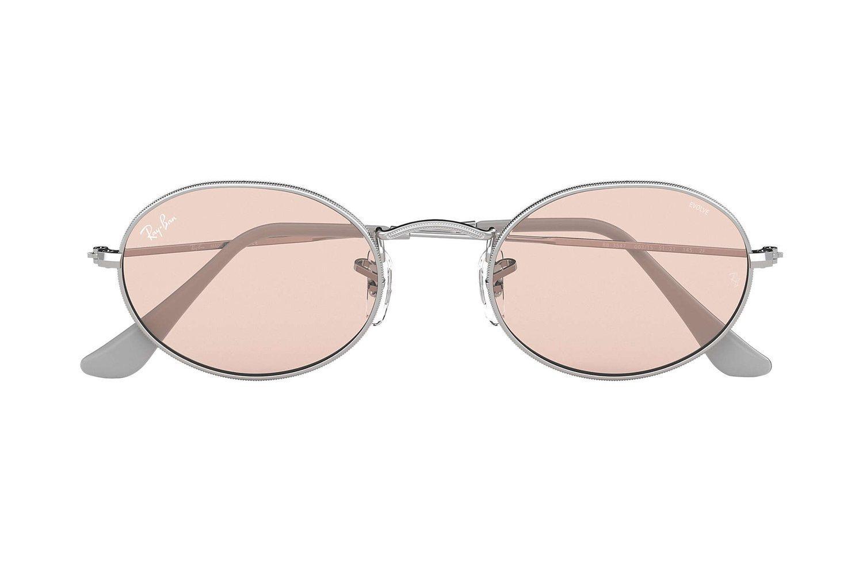 Ray Ban Okulary przeciwsłoneczne fotochromowe ROUND SOLID