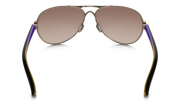 62044ad075 ... OAKLEY Sunglasses FEEDBACK Rose Gold   VR50 Brown Gradient OO4079-25 ...