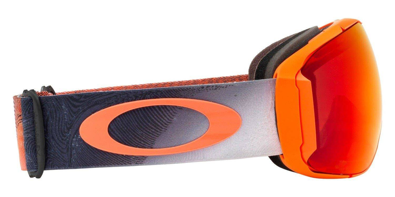 6a8cd9961dc506 Oakley Gogle Airbrake XL Mystic Flow Neon Orange / Prizm Snow Torch Iridium  & Prizm Black Iridium OO7071-33