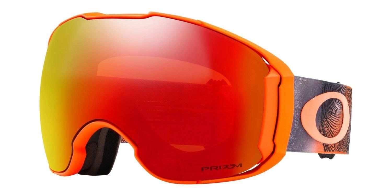 521ec6c1da65ba ... Oakley Gogle Airbrake XL Mystic Flow Neon Orange / Prizm Snow Torch  Iridium & Prizm Black ...