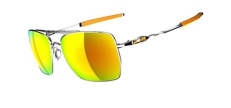4d9a5cca2eb859 Oakley Sunglasses DEVATION Polished Chrome Fire Iridium OO4061-03 ...