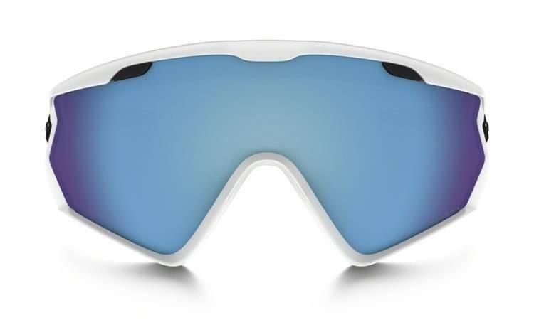 2e9a2fce8c0c ... Gogle Oakley WIND JACKET 2.0 Matte White Prizm Snow Sapphire Iridium  OO7072-03 ...