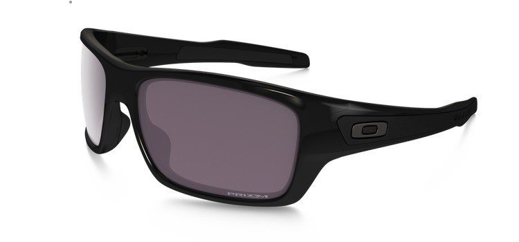 e065cdf3776 Oakley Sunglasses TURBINE Polished Black Prizm Daily Polarized OO9263-06