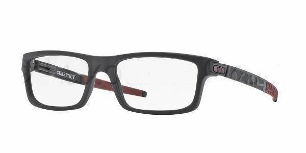 2745ffa3ff Oakley Optical frame CURRENCY Satin Black Cardinal OX8026-12 OX8026 ...