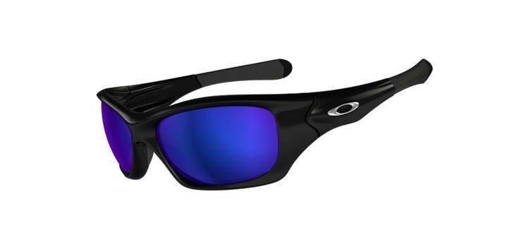 10e8b645d7 Oakley Sunglasses PIT BULL Polished Black Shallow Blue Polarized OO9127-10  OO9127-10
