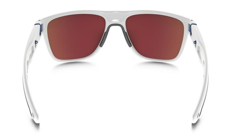 86fa200e886f1 ... Oakley Sunglasses CROSSRANGE XL Polished White   Prizm Snow Sapphire  Iridium OO9360-08 ...
