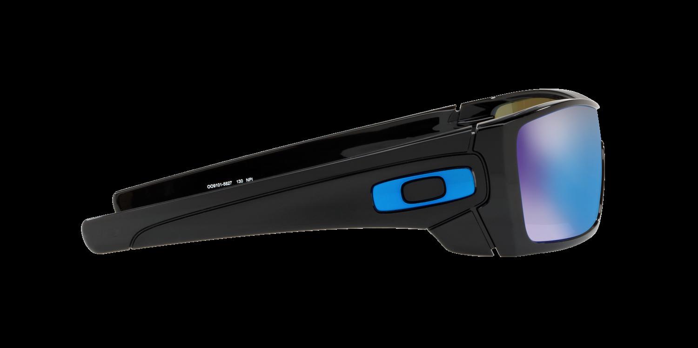 b2a6cfb186 ... Oakley BATWOLF Polished Black Prizm Sapphire OO9101-58 ...