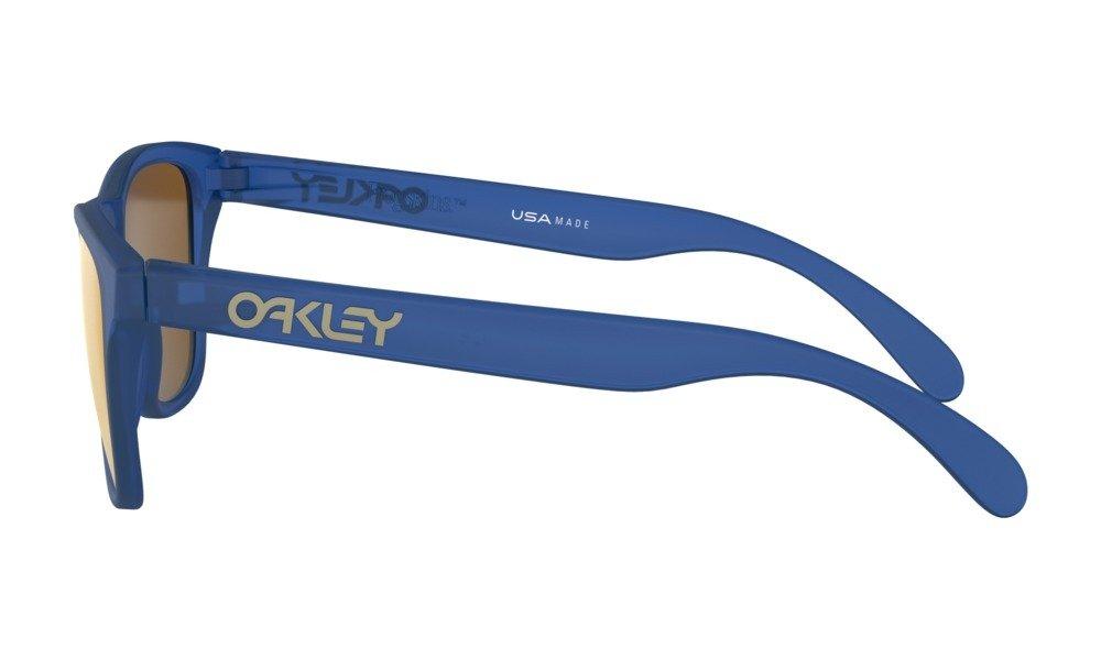 cad2e8a4bb1 Oakley FROGSKINS XS Matte Sapphire ... OJ9006-04