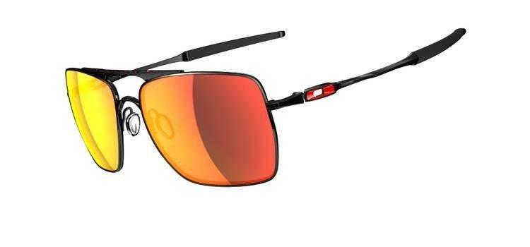 09e7936fc83599 Oakley Sunglasses DEVATION Polished Black Ruby Iridium OO4061-04 ...