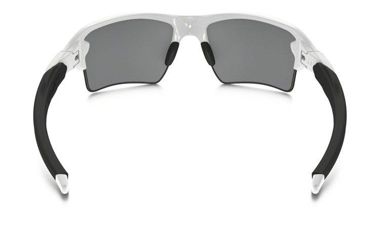 762fa27b9780e ... Oakley Sunglasses FLAK 2.0 XL Polished White Black Iridium OO9188-54 ...