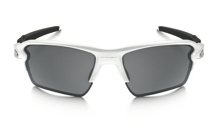 2596d16cc6 Oakley Sunglasses FLAK 2.0 XL Polished White Black Iridium OO9188-54 OO9188-54