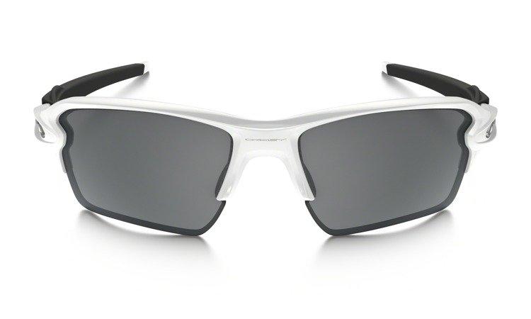 e39dc8c683acb Oakley Sunglasses FLAK 2.0 XL Polished White Black Iridium OO9188-54  OO9188-54