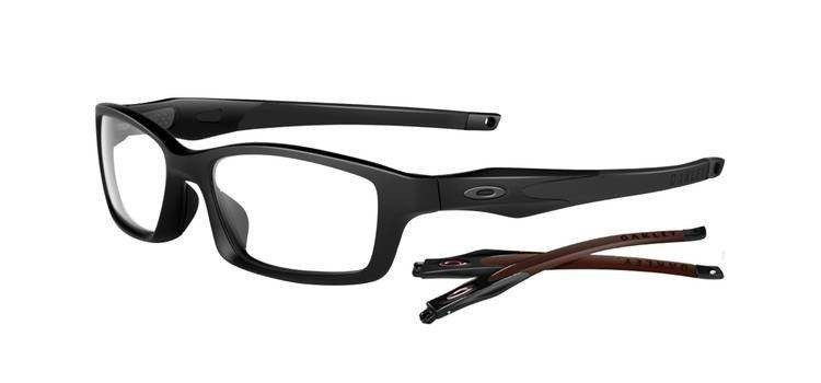 66c3941a0c9 Oakley Optical frame CROSSLINK Satin Black Black OX8027-0553 Oakley Frame  Crosslink OX8027-0553