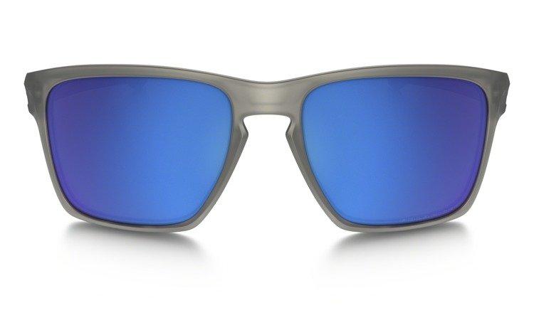4dab3a9e30 Oakley Sunglasses SLIVER XL Matte Gray   Sapphire Iridium Polarized OO9341-03  OO9341-03