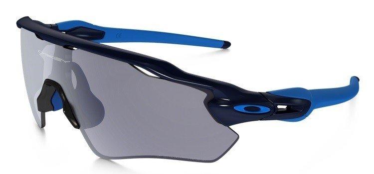 4cec97a772 Oakley Sunglasses RADAR EV PATH Navy Grey Polarized OO9208-06 OO9208 ...