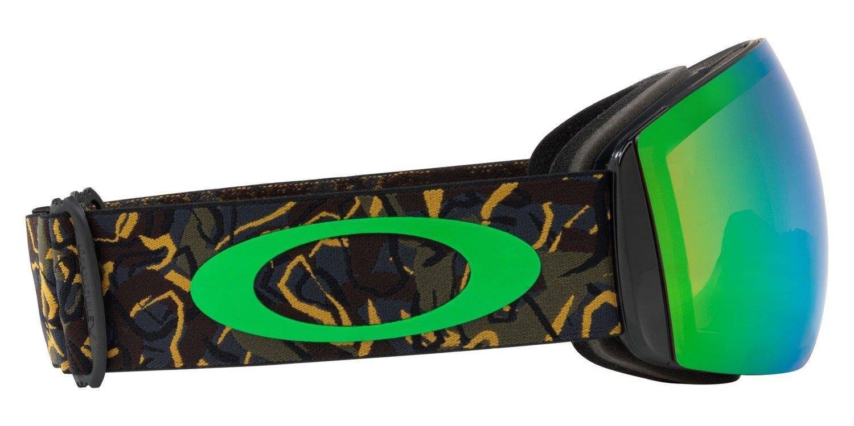 2bea85305eb3 Oakley Goggles Flight Deck Camo Vine Jungle   Prizm Snow Jade Iridium  OO7050-64