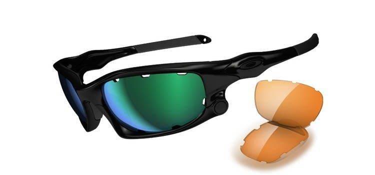 f39e9e95fd1894 Oakley Sunglasses SPLIT JACKET Polished Black Jade Iridium   Persimmon  OO9099- ...