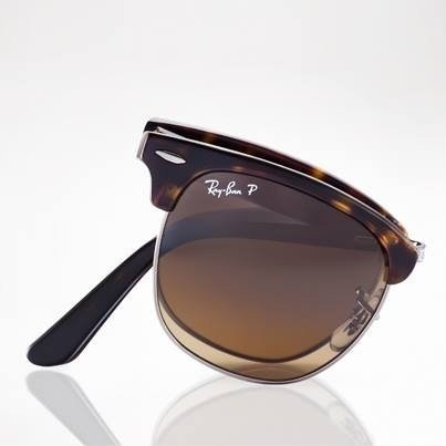 7e98ab7a26d Ray-Ban Sunglasses polarized CLUBMASTER FOLDING RB2176 - 1151M7 ...