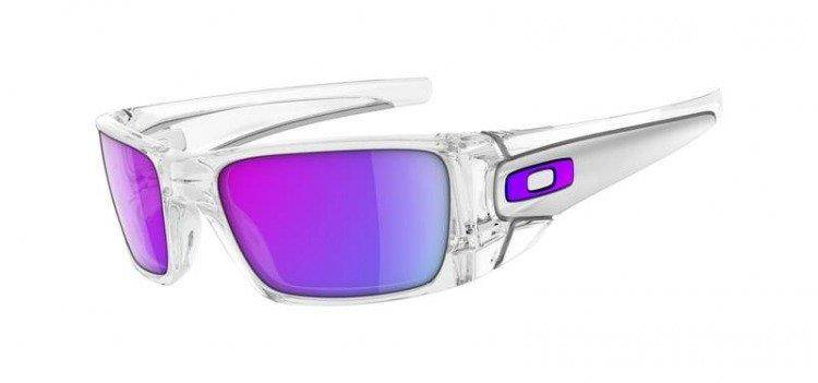 e2cc47f951ef2 Oakley Sunglasses FUEL CELL Polished Clear Matte Clear Violet Iridium  OO9096-04 Oakley Sunglasses FUEL CELL Polished Clear Matte Clear   Violet  Iridium ...