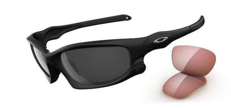 9d5dba0e12b Oakley Sunglasses SPLIT JACKET Matte Black Black Iridium