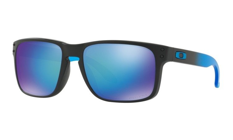 ... Oakley Sunglasses HOLBROOK PRIZM™ POLARIZED SAPPHIRE FADE COLLECTION  Matte Black   Prizm Sapphire Polarized OO9102 ... b7dcd7750b